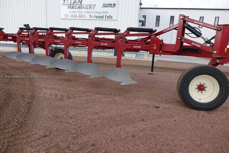 2011 Salford 8214, 14 Bottom, 2 Sec, Spring Type, Inc Coulters Plow-Moldboard For Sale