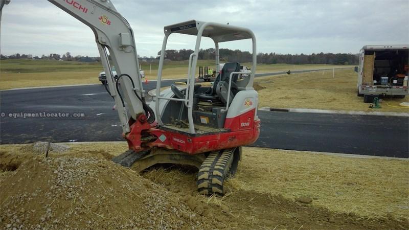 2016 Takeuchi TB240 Excavator-Mini For Sale or Rent at