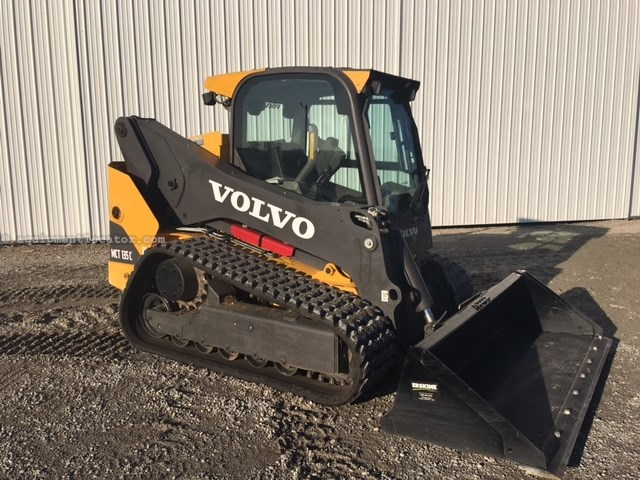 Volvo Skid Steer >> 2013 Volvo Mct 135 C Skid Steer Track For Sale At Equipmentlocator Com