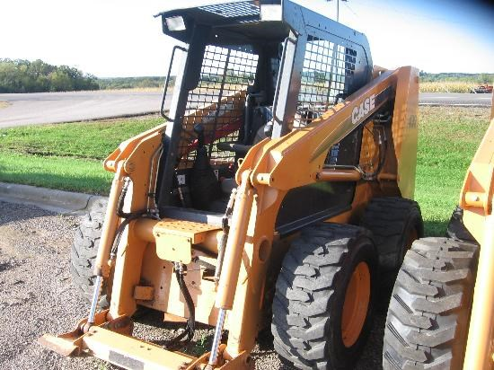 2007 Case 430 Skid Steer For Sale at EquipmentLocator com