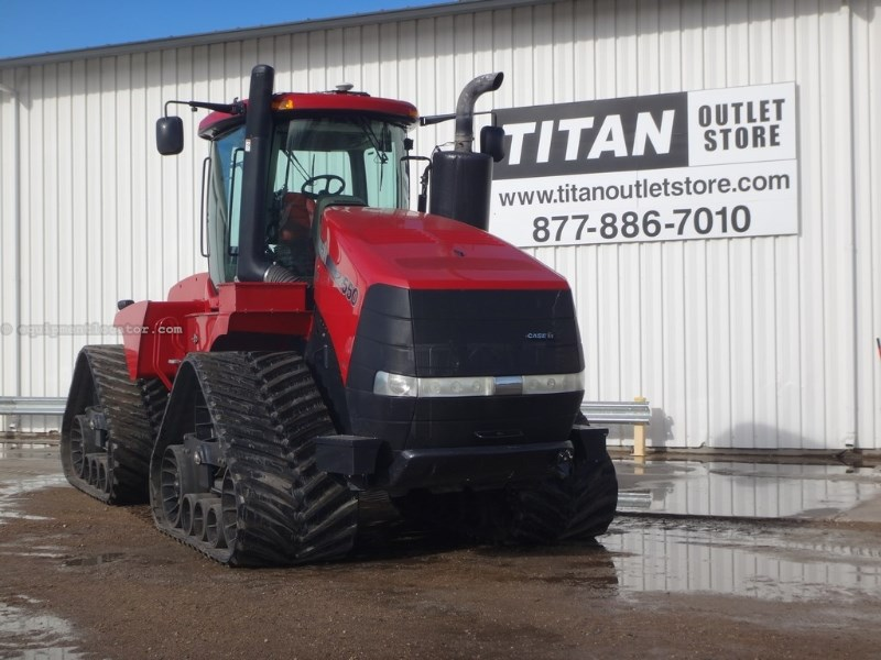 2012 Case IH 550Q, 550 HP, 1000 PTO, Hi Cap Pump, 6 Rem Tractor For Sale