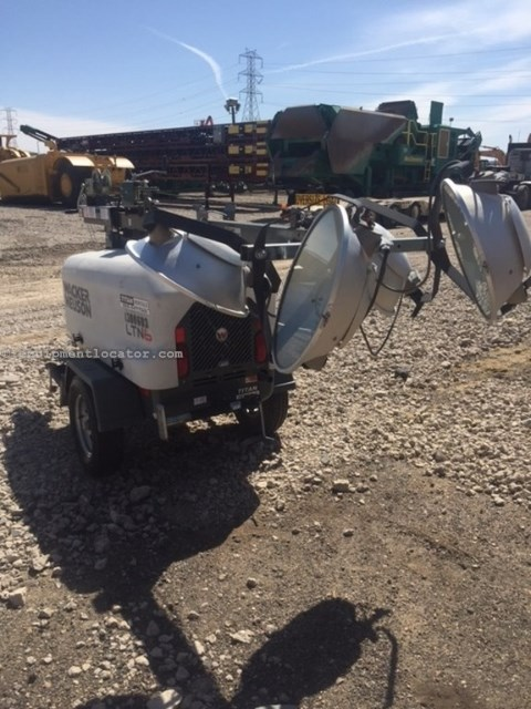 2012 Wacker LTN6L, 2154 Hr, 67 Hr Runtime, Diesel, 30' Mast Ht Light Tower For Sale