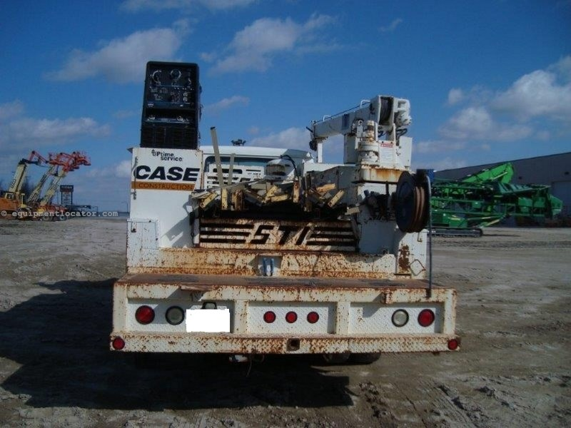 2001 International 4700 Service Truck, w/Service Box & Crane Service Truck For Sale