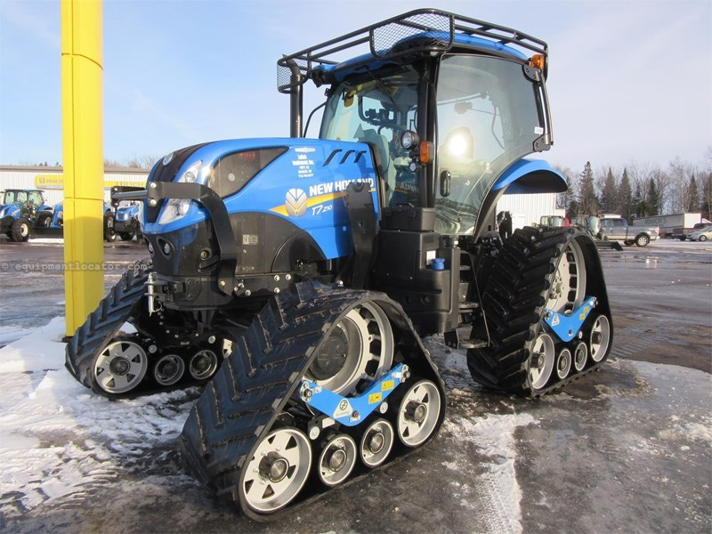 2016 New Holland T7 210 Tractor For Sale at EquipmentLocator com