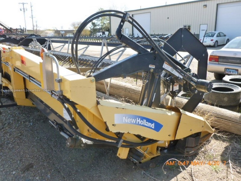 2009 New Holland 88C, 42', Fits CR/CX Adapters, Full Plastic Finger Header-Flex For Sale