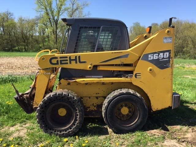 2008 Gehl 5640e Skid Steer For Sale At Equipmentlocator Com