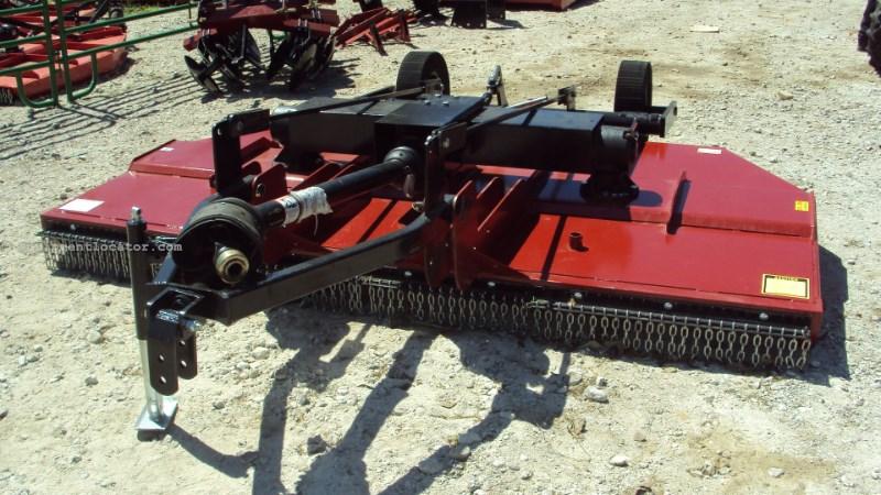 Atlas HD 10' pull type brush hog mower SCL120 Image 1
