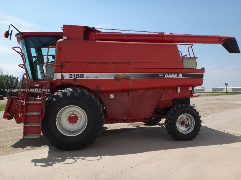 1996 Case IH 2188, 5673 Sep Hr, RT, Beater, Spread Combine For Sale