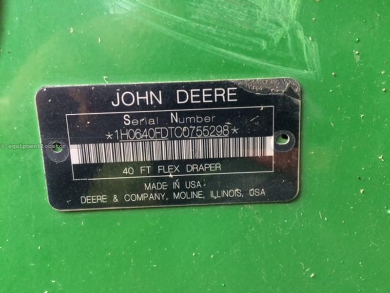 """2013 John Deere 640FD, 40', Fits JD9760/9870/New JD """"S"""" Series Header-Draper/Flex For Sale"""