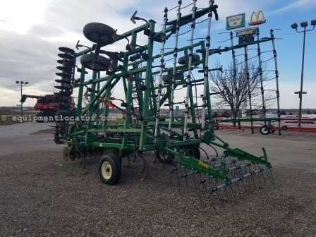 Great Plains 6328, 28', Sgl Fold, Cush Gang Disk Ripper For Sale