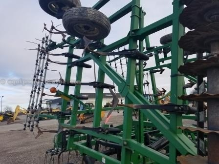 2005 Great Plains 6328, 28', Sgl Fold, Cush Gang Disk Ripper For Sale