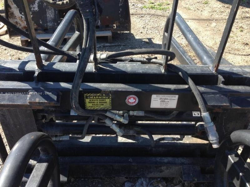 """2014 Wifo SBH-M, Skid Steer Mount, Opens to 76"""" Bale Squeeze Attachment For Sale"""
