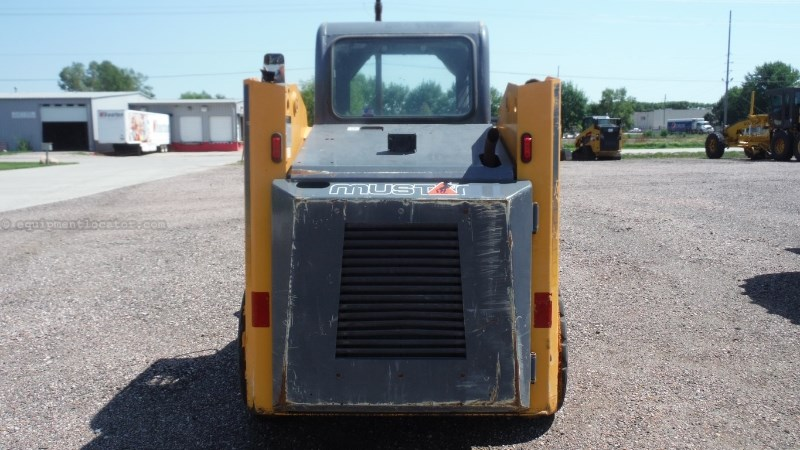 2009 Mustang 2054, 1587 Hr, Mech Hand Controls, Mech Cplr, ROPS Skid Steer For Sale