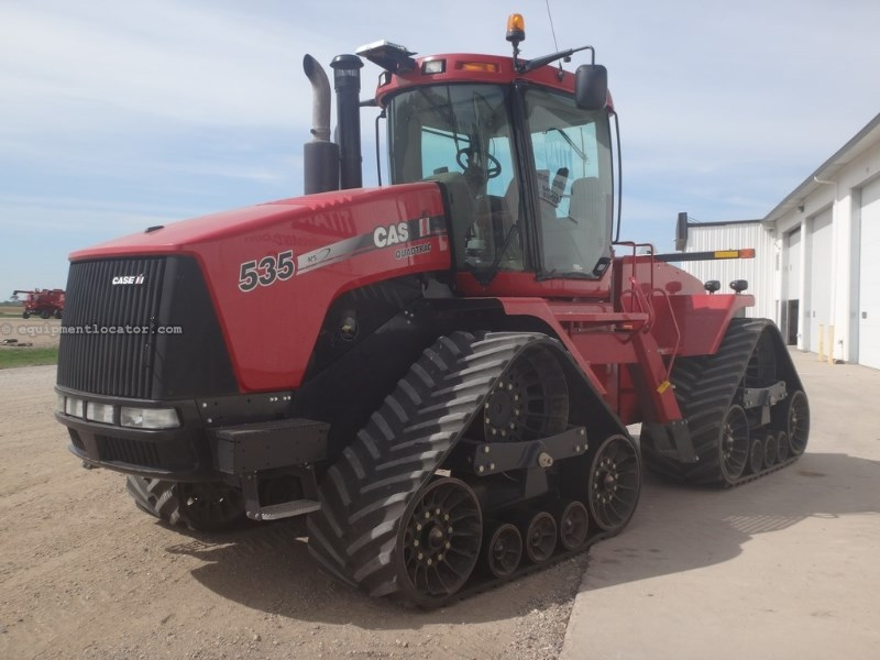 "2011 Case IH 535Q, 3643 Hr, 30"" Track, 1000 PTO,Guide Nav Cont  Tractor For Sale"