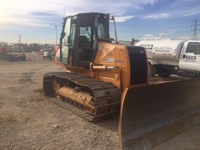 2012 Case 1150K, 3389 Hr, Heat/AC/Defrost, Wide Track  Dozer For Sale