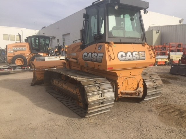 2012 Case 1150K WT, 3389 Hr, Heat/AC/Defrost, Wide Track  Dozer For Sale