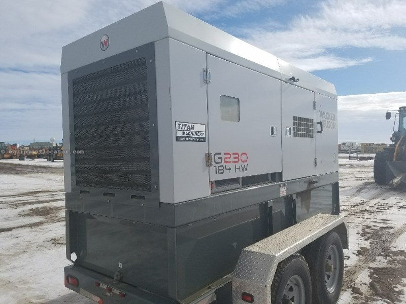 2012 Wacker G230, 325 Hr,Liq-Cool/6 Cyl/Cummins Eng,184kWOutpt Generator For Sale