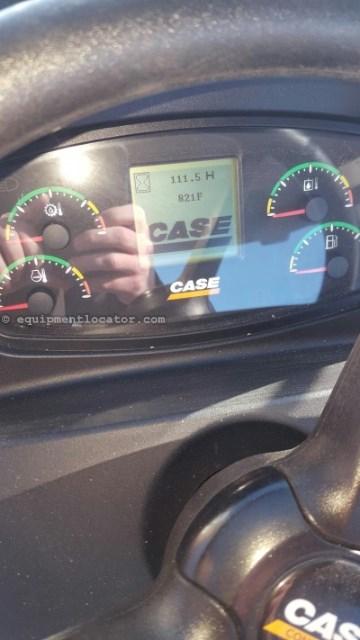 2014 Case 821F, 217 Hr, JRB Hyd Coupler, 4 Yd Bkt, 3rd Spool Wheel Loader For Sale