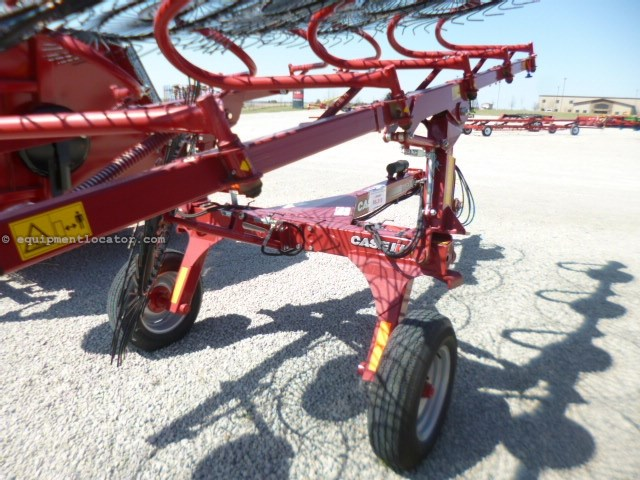 2013 Case IH WR102, Hyd Drive,Center Kicker Whl,19' Rake Width Hay Rake-Wheel For Sale