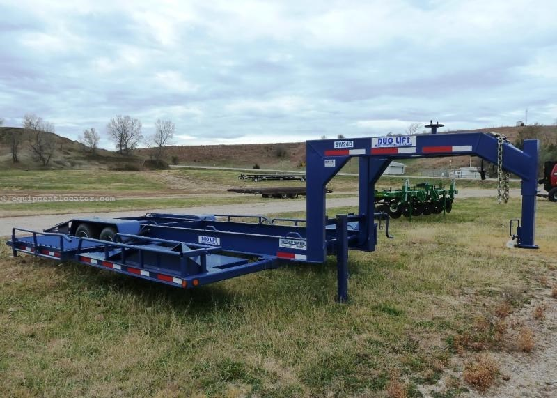 2014 Duo-Lift SW24D, Swather Hauler, Elec Brakes, GVWR 24K Specialty Trailer For Sale