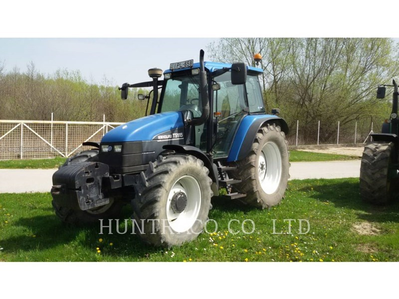 2002 New Holland TS115 Tractor For Sale at EquipmentLocator com