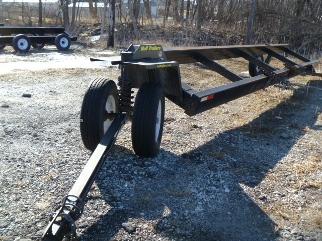 2014 Hull Trailers 25, Sgl Hdrs, Straight Hitch, Tie-downs, Lite Pkg Header Trailer For Sale