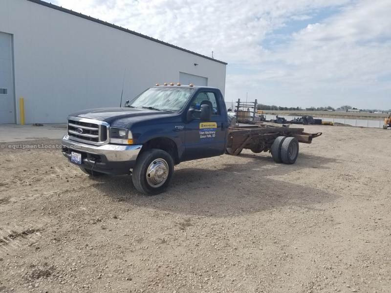 2002 Ford F550, 100421 Mi, Ford Power Stroke 7.3 Eng, 6 Spd Camiones roll off a La Venta