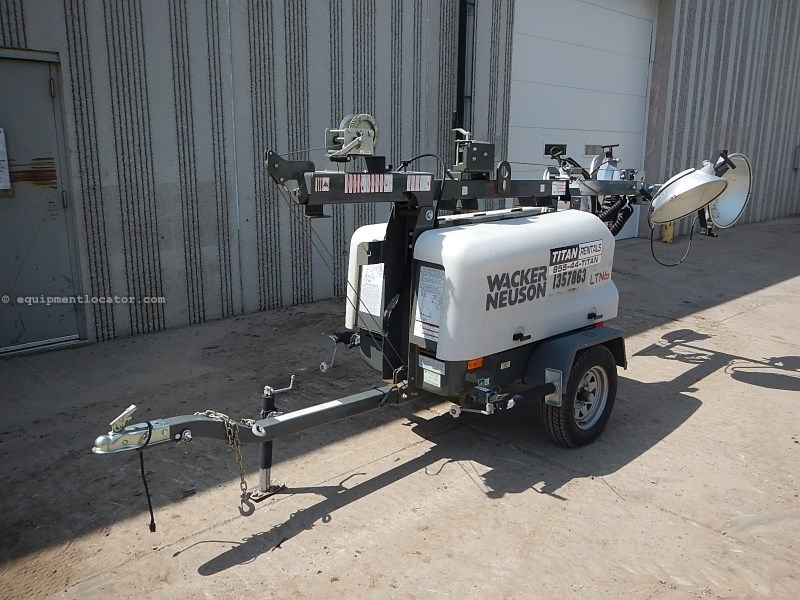 2012 Wacker LTN6L, 1218 Hr, 67 Hr Runtime, Diesel, 30' Mast Ht Light Tower For Sale