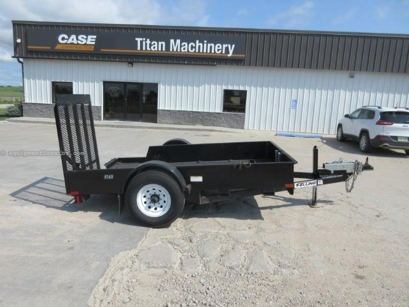 "2011 Felling FT6D, 14"" Deck Height, 11 Degree Load Angle  Utility Trailer For Sale"
