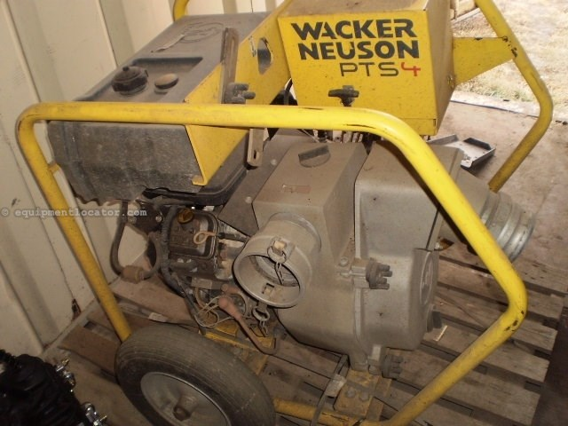 2012 Wacker PTS4, Gas, Dry Prime, Skid Mounted  Pump For Sale