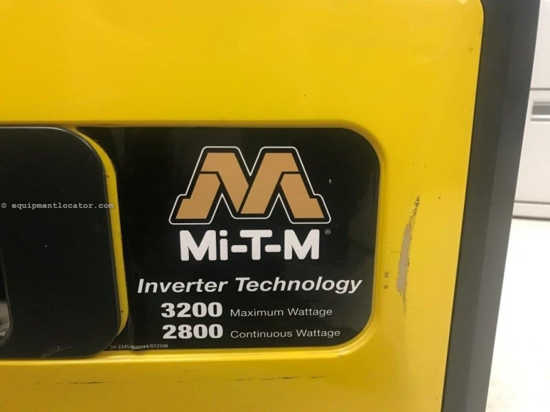 2012 MTM 3200W, MiTM Generator, 195 Hr, Portable Generator For Sale