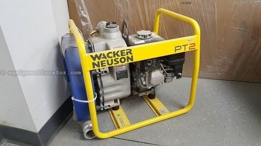 "Wacker PT2A, Self-Priming, 2"" Capacity, Honda Engine  Pump For Sale"