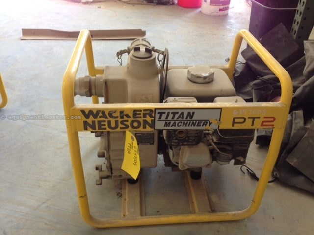 "2011 Wacker PT2A, Self-Priming, 2"" Capacity, Honda Engine  Pump For Sale"