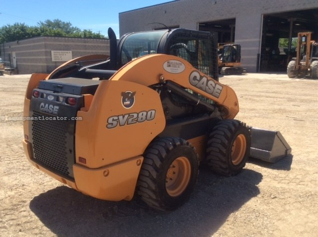 2015 Case SV280, 445 Hr, Hyd Cplr, Ride Control, 2-Spd Skid Steer For Sale