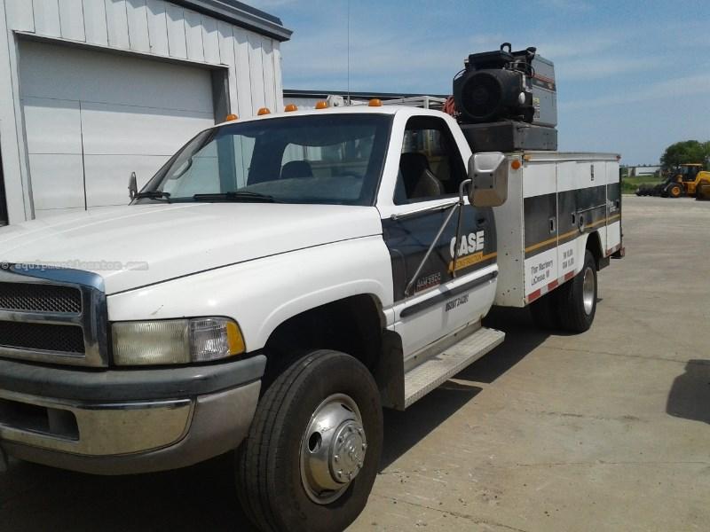 1998 Dodge 3500, 269325 Mi, Crane, Cummins Eng, 5 Spd Service Truck For Sale
