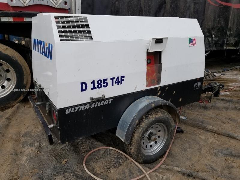 2016 Rotair D185T41, 185CFM, 300 PSI, 65HP, Diesel  Air Compressor For Sale