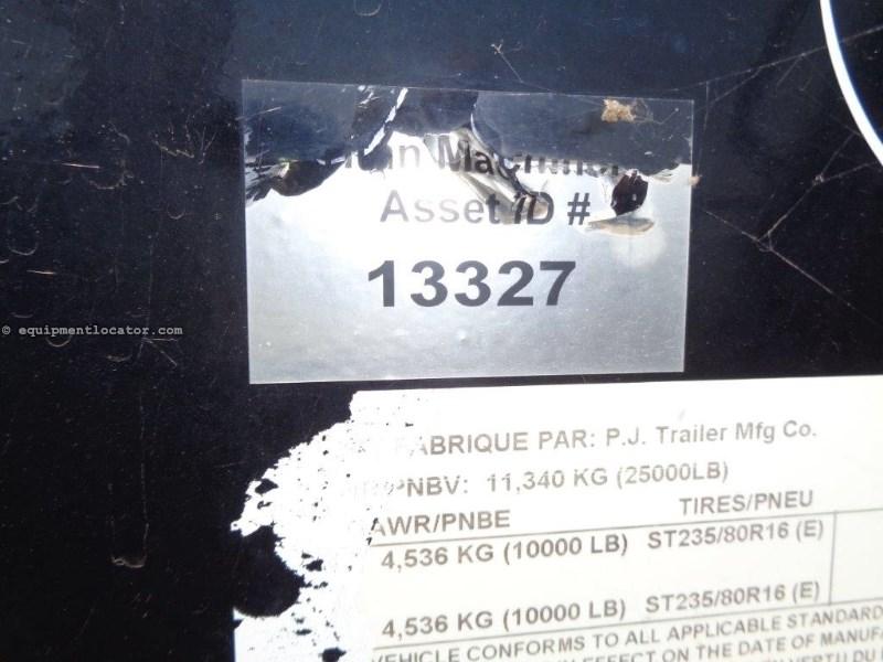 2014 P&J FD302, 8 New Tires, New Brakes/Wheel Seals Gooseneck Semi Trailer For Sale