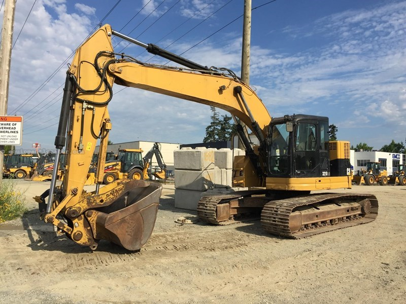 2012 Caterpillar 321D LCR
