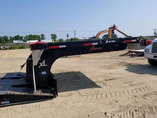 2010 XL Specialized XL 80-BDH, Hyd Detach, Winch, Air Ride, Steel Rims Dropdeck/Lowboy Semi Trailer For Sale