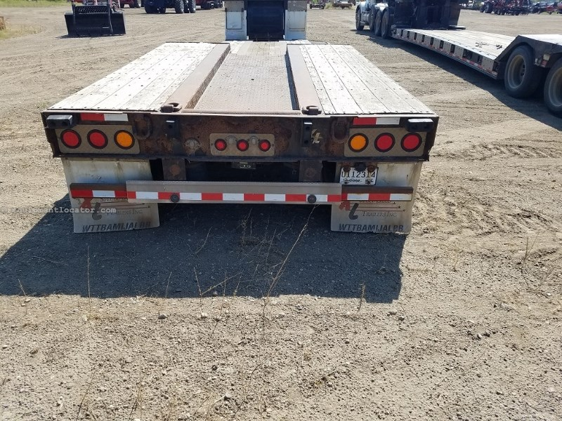 2009 XL Specialized XL80HDG, Dble Drop, Air Ride, LED Lights Dropdeck/Lowboy Semi Trailer For Sale