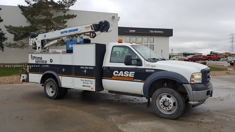 2007 Ford F550, 183617 Mi, Auto Trans,PTO,Leaf Susp,Toolbox Service Truck For Sale
