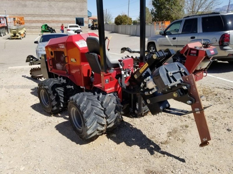 2015 Toro Pro Sneak 360, 2 Hrs, 4' Depth, Plow/Trencher Boom Trencher-Rubber Tires For Sale