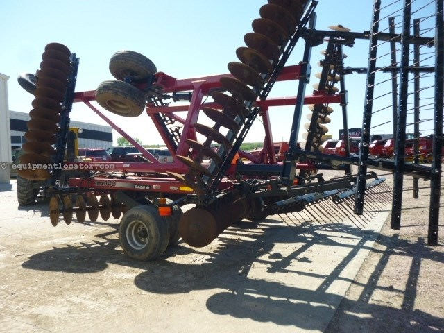 2009 Case IH RMX340, 34', Rigid Gang, Coil Tine, Scrapers Disk Harrow For Sale