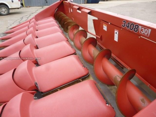 2011 Case IH 3408, Fits 6088/7088/7120/9120, 8R30, HHC, FT Cabezales para maíz a La Venta