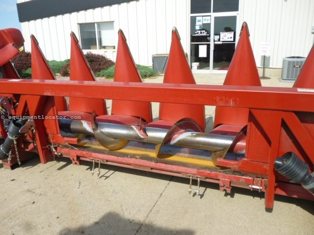 2008 Case IH 3208, Fits 7010/8010/7120/8120, HHC, FT, Hy Dk Plt Header-Corn For Sale
