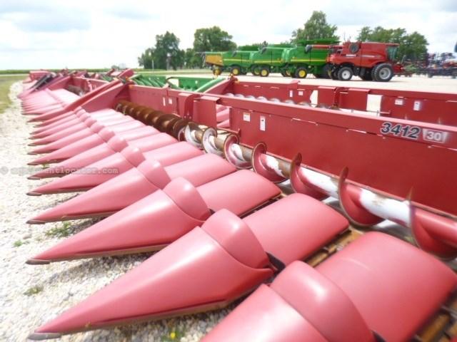 2010 Case IH 3412, Fits 7120/8120/9120, 12R30, HHC, FT, Knife Cabezales para maíz a La Venta