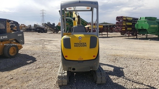 2016 Wacker ET20, 845 Hrs, ROPS, Rubber Track  Excavator-Mini For Sale