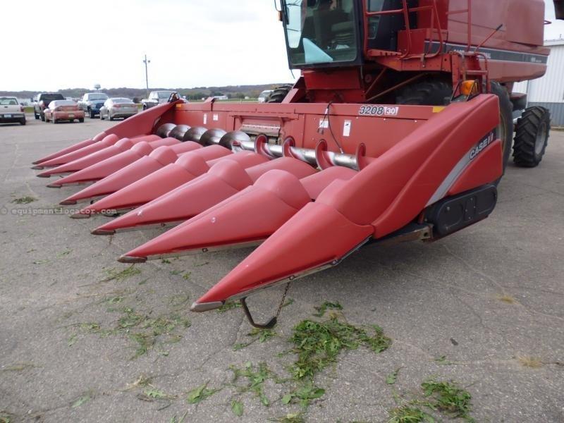 2009 Case IH 3208, Fits 7010/8010/7120/8120, HHC, FT, Hy Dk Plt Cabezales para maíz a La Venta
