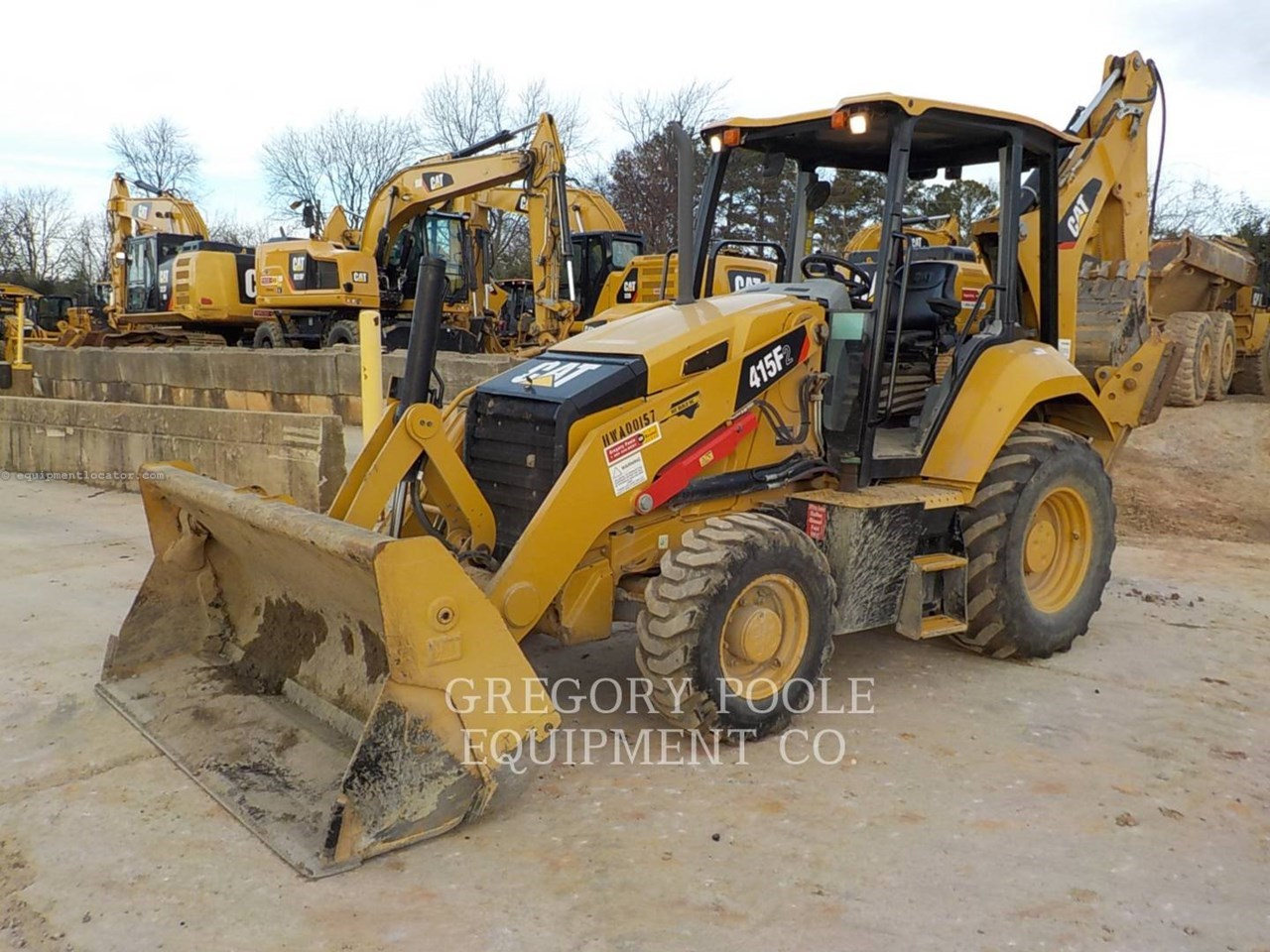 2015 Caterpillar 415F2 Image 1