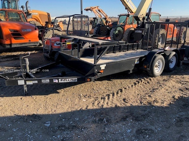 2012 Felling FT-7 D, Designed to move Toro Dingo & Attachments Equipment Trailer For Sale